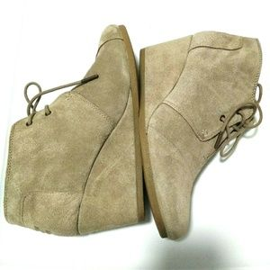 TOMS Women Wedges Booties Shoes